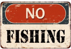 I'm Giving Up the Hook - My Readers Aren't Fish marilyn l davis two drops of ink cliché