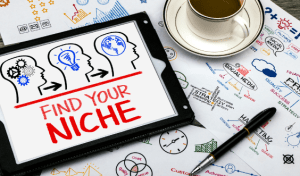 WHAT'S YOUR NICHE? marilyn l davis two drops of ink