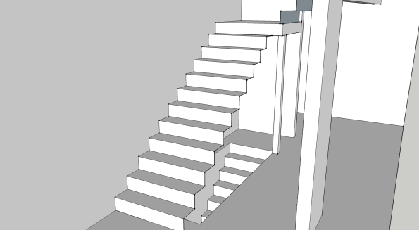 First floor stair opening