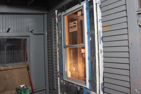 Completed window