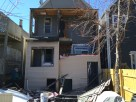 Porch coming down