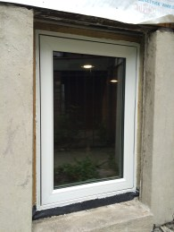 Left window exterior
