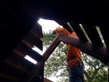 Framing new rafters