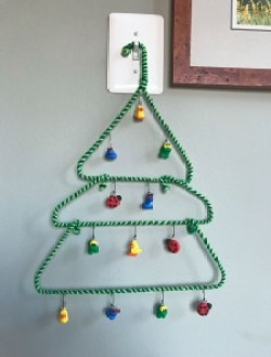 12 Days of Christmas Hanger Tree