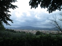 Florence: View from the campsite