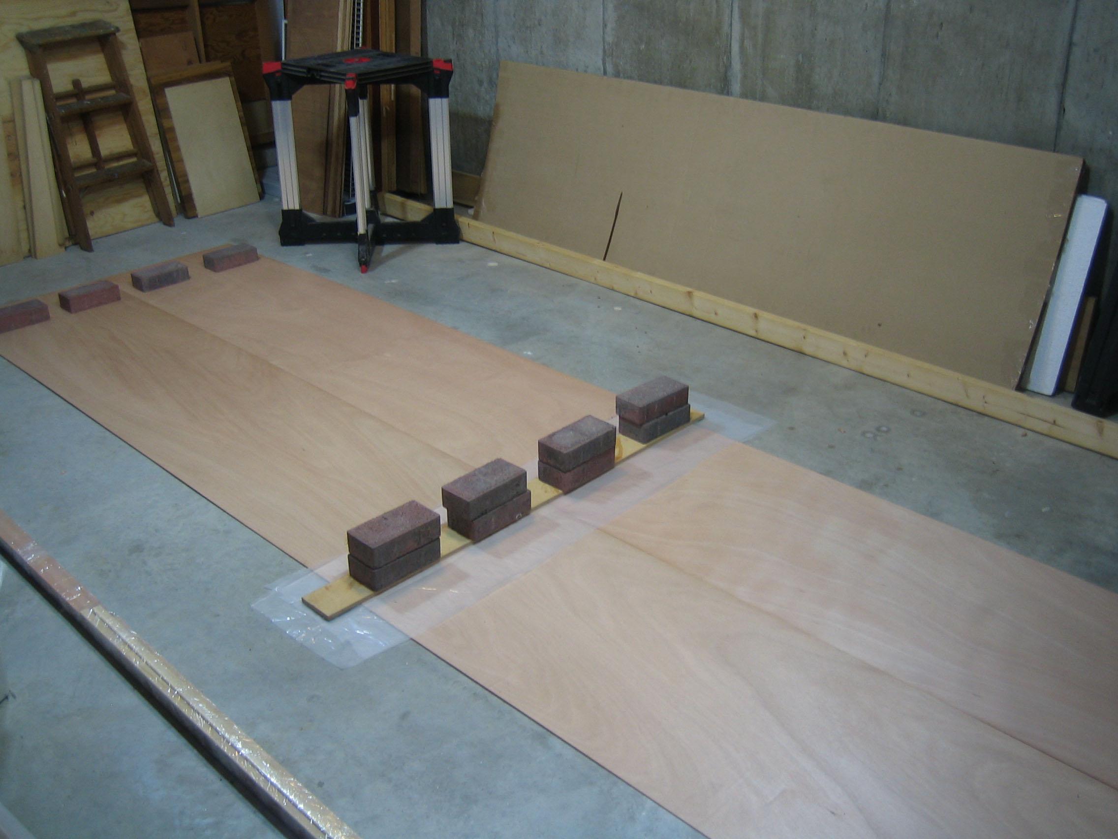 Scarfed Plywood