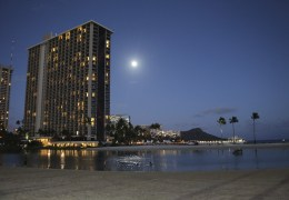 Photo Friday: SuperMoon Over Honolulu's Waikiki Beach