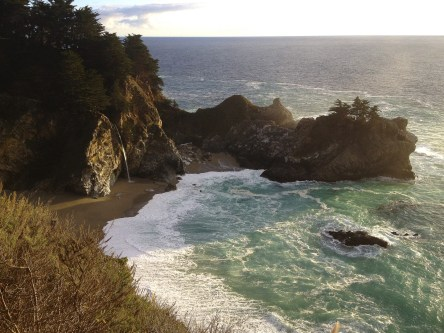 McWay Falls. Julie Pfeiffer-Burns State Park, Big Sur, CA