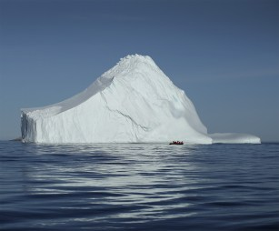 Iceberg. Near Monumental Island, Baffin Bay, Canadian Arctic