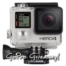 Two for the Road GoPro Giveaway