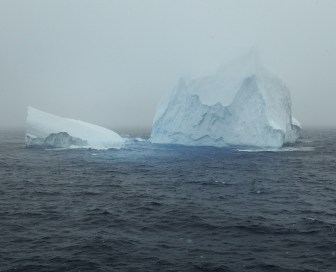 We made a couple of passes around the iceberg...