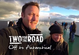 VIDEO: We're Off! Boarding Our Expedition Ship to Antarctica