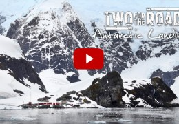 VIDEO: Setting Foot on the Antarctic Continent. Finally!