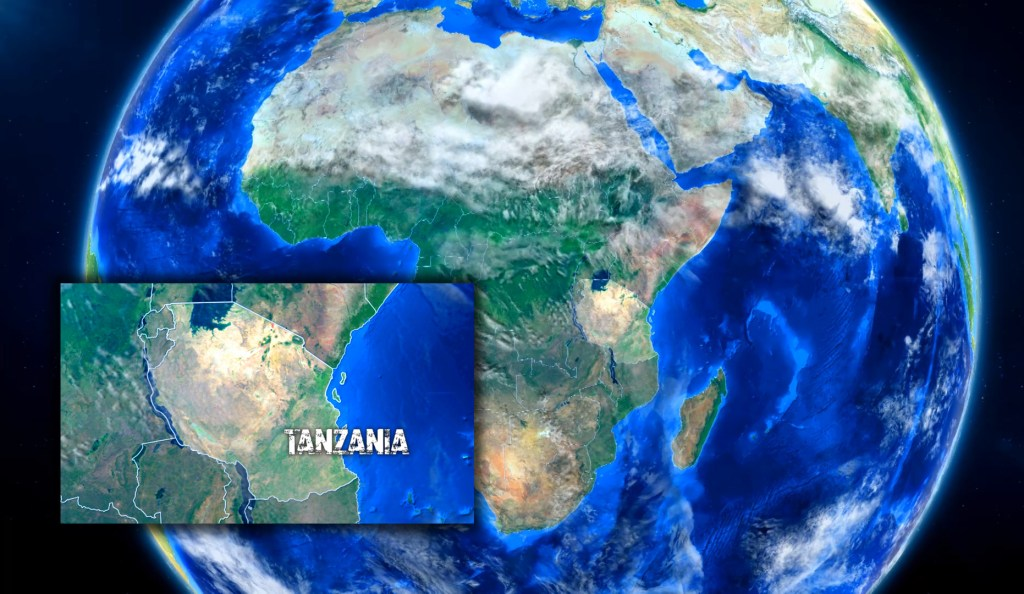 two for the road travel adventure blog tanzania facts interesting map