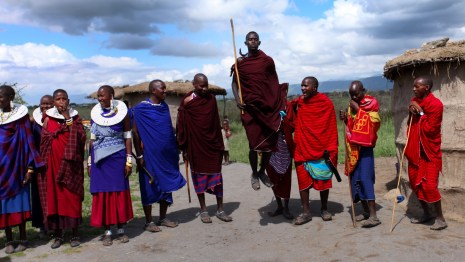 Two for the Road: Our Day with the Maasai in Tanzania