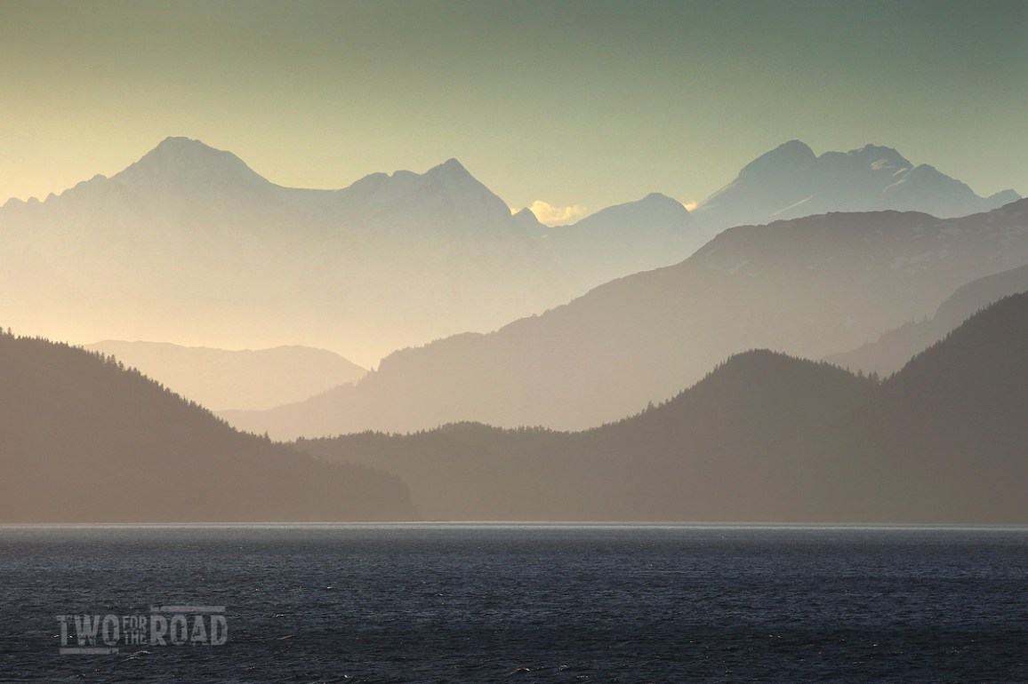 Two for the Road Photo of the Day: Alaska's Epic Landscape at Sunset