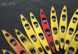 Photo of the Day: A Rainbow of Kayaks in Alaska's Inside Passage