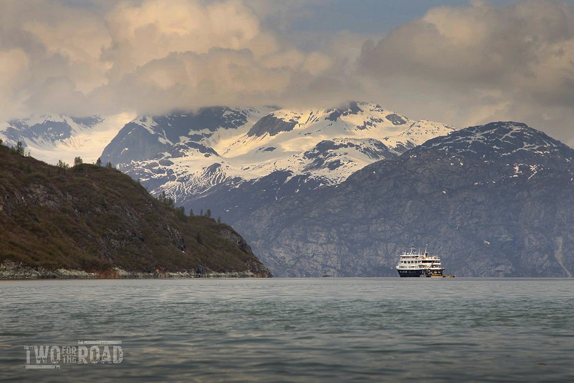 Two for the Road Photo of the Day: the Safari Endeavour in Glacier Bay, Alaska