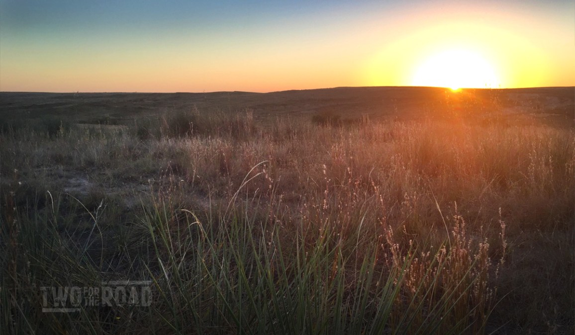Two for the Road Photo of the Day: Texas Panhandle Sunset