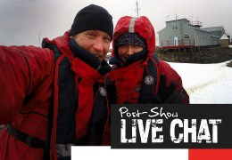 Antarctic Adventure: Episode Two Post-Show LIVE Facebook Chat
