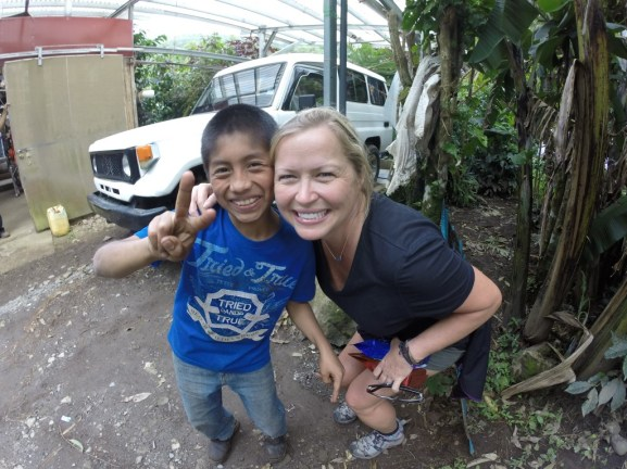 And... making new friends! In Boquete, Panama.