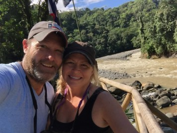 At the Rios Tropicales Lodge along the Pacuare River (Costa Rica)