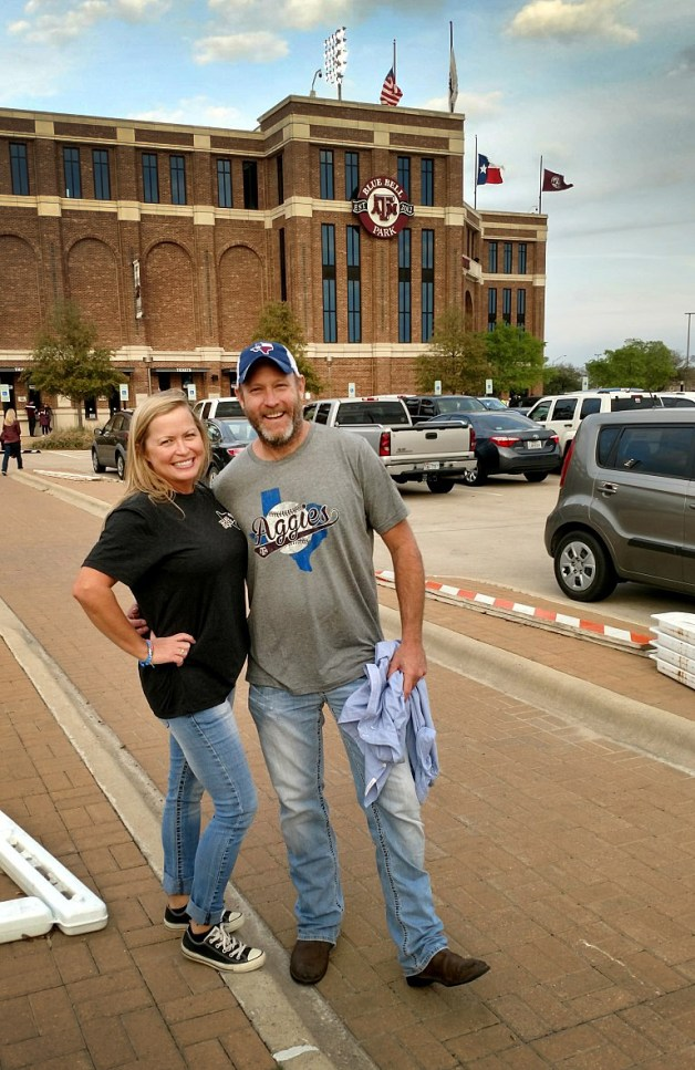 At Blue Bell Park! Such a great ballpark!