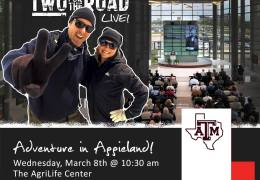 Attention Aggieland! We're Storming the Campus at Texas A&M!