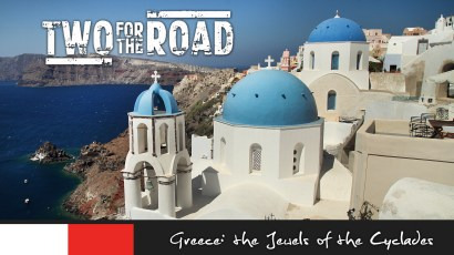 Episode 208: After exploring the beautiful and ancient ruins of the Acropolis in Athens, Nik and Dusty board a cruise ship and set out to explore the islands and towns of the famed Cyclades.