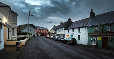 Spent a night in the tiny hamlet of Ballyferriter on the Dingle Peninsula, where they actually filmed quite a bit of the new Star Wars movie! Cool spot!