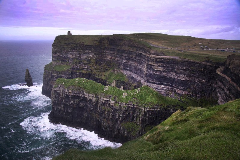 And then... this. The spectacular Cliffs of Moher! Wow!