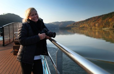 Cruising along the Danube...