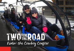 Episode Extra:  A Crazy Cool Ride on the Cowboy Mountain Coaster