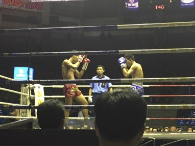 Muy Thai boxing. Mad respect.