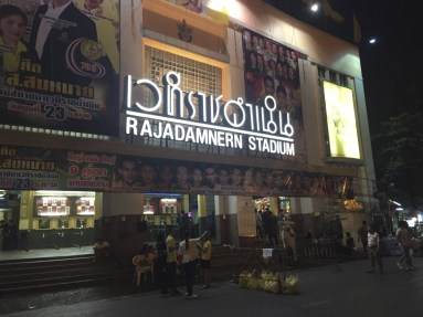 Welcome to Rajadamnern Stadium,