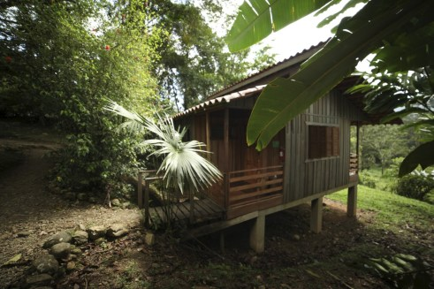 Our cabin at Selva Bananito.