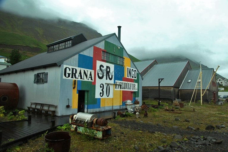 The herring museum in Siglufjordur.