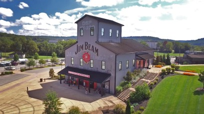 The very cool Jim Beam American Stillhouse.