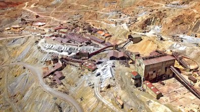One of the mining operations on Cerro Rico.