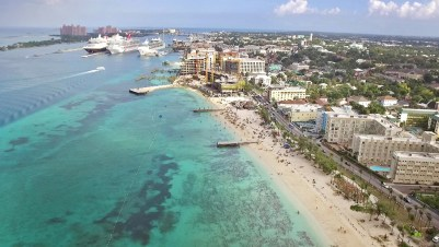 Beautiful drone shot of a beautiful place! Welcome to Nassau!