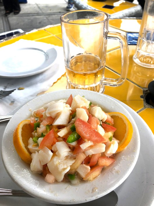 ...conch salad! Yum yum yum