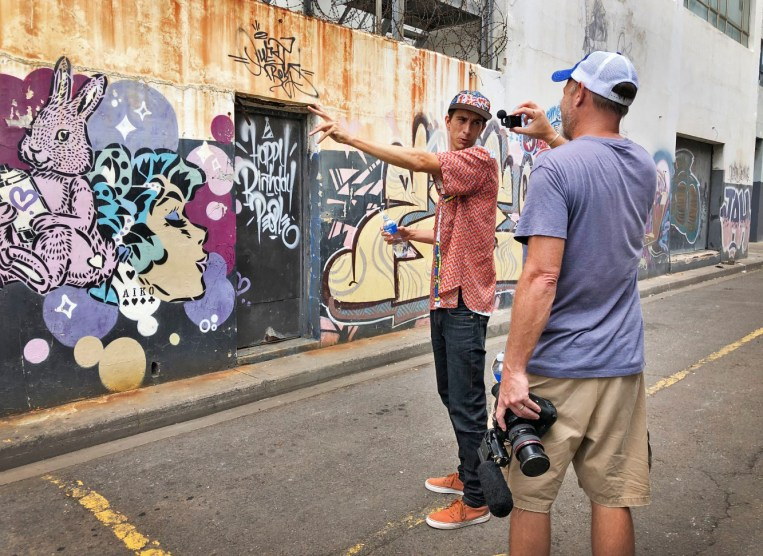 As part of our Wild Routes Africa city tour of Durban, we got to meet and spend the day with artist and all-around cool guy Mook Lion, who took us around to enjoy and appreciate Durban's fantastic street art scene. Fascinating!