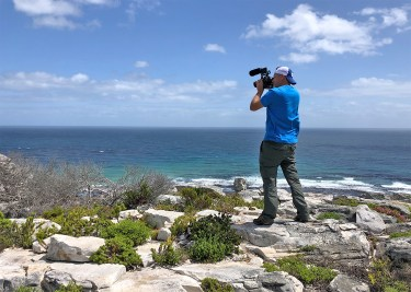 Shooting on a breezy but beautiful day on the Cape Peninsula....