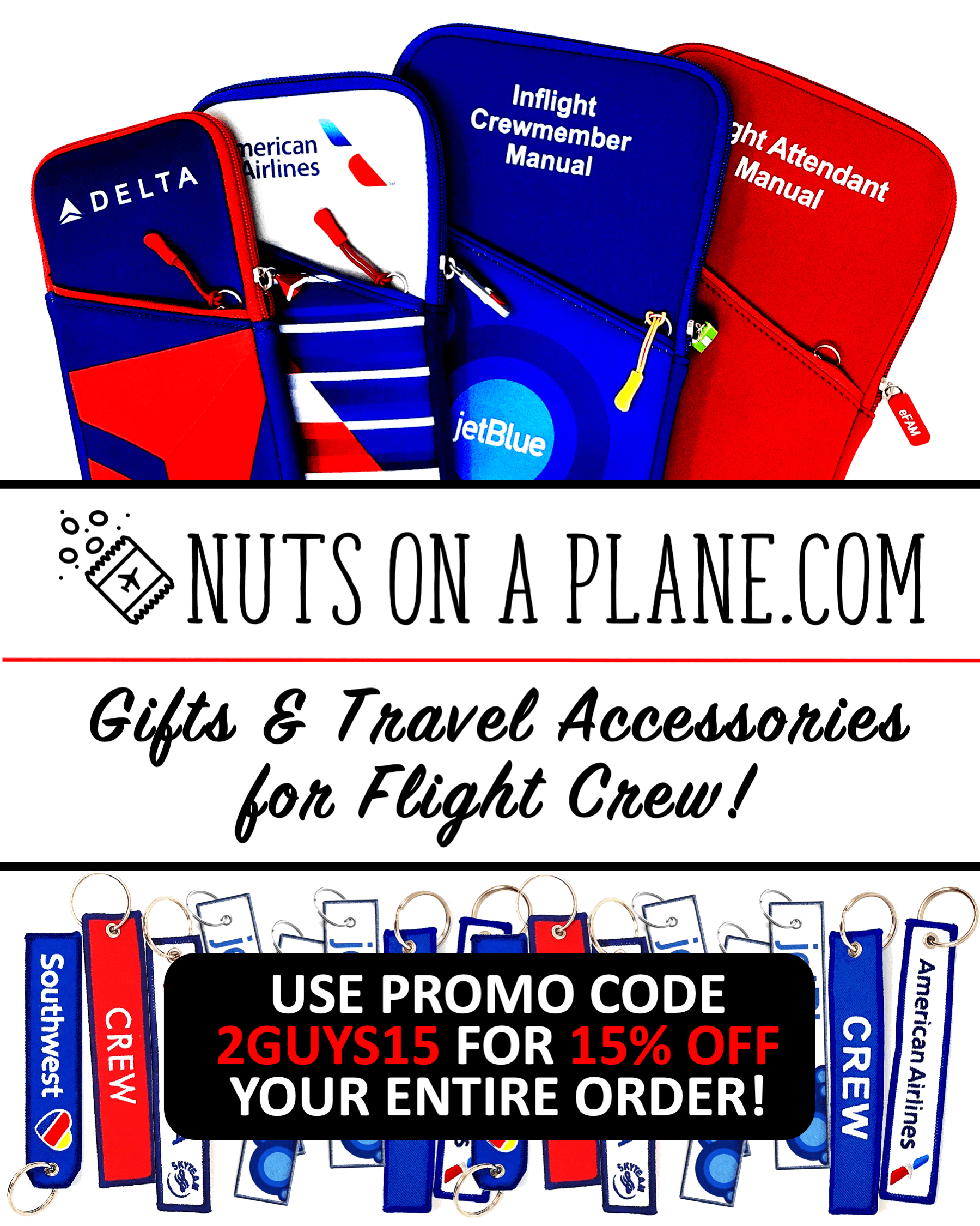 Shop 'Nuts On A Plane'