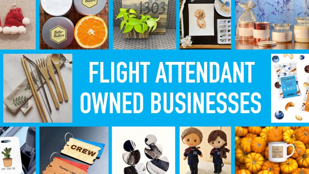 Flight Attendant Owned Businesses