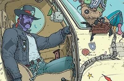 Sharkey the Bounty Hunter #1 Review