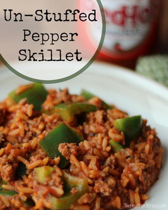 Un Stuffed Pepper Skillet
