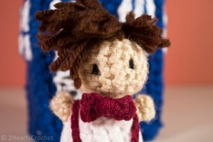 Eleven and his bow tie (bow ties are cool)!