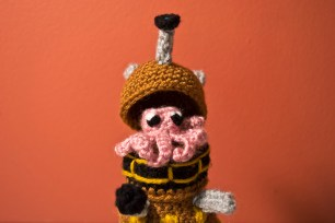 Amigurumi Dalek (13 of 14)