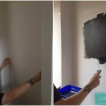 The first fun job – Giant Chalkboard!